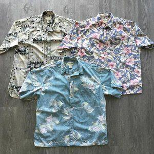 Cooke Street Hawaiian Casual Short Sleeve Shirt XL